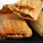 Buy a dozen or half a dozen of Chicken and Cheese Tamales