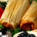 Pork and Cheese tamale